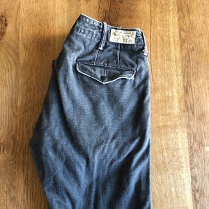RRL patched chino